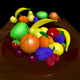 Fruit and fruit bawl