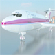 Airplane boeing 727