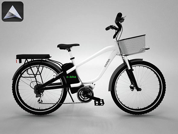 Electric Bike - 3DOcean Item for Sale