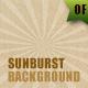 28 Sunburst Backgrounds