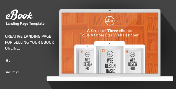 eBook - Creative Landing Page Template