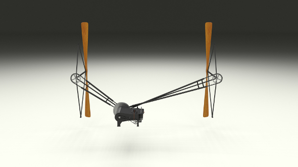 Wright Flyer Propulsion - 3DOcean Item for Sale