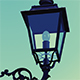 Old Style Street Lamp - GraphicRiver Item for Sale