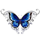 Tattoo Blue Butterfly