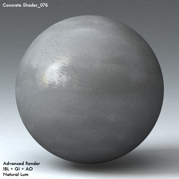 Concrete Shader_076 - 3DOcean Item for Sale