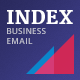 Index Business Email Template + StampReady Builder