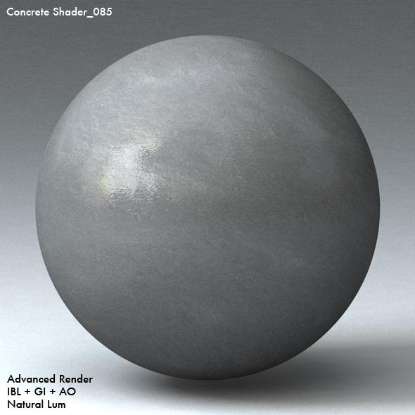 Concrete Shader_085 - 3DOcean Item for Sale