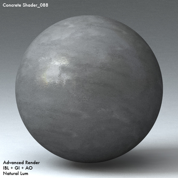 Concrete Shader_088 - 3DOcean Item for Sale