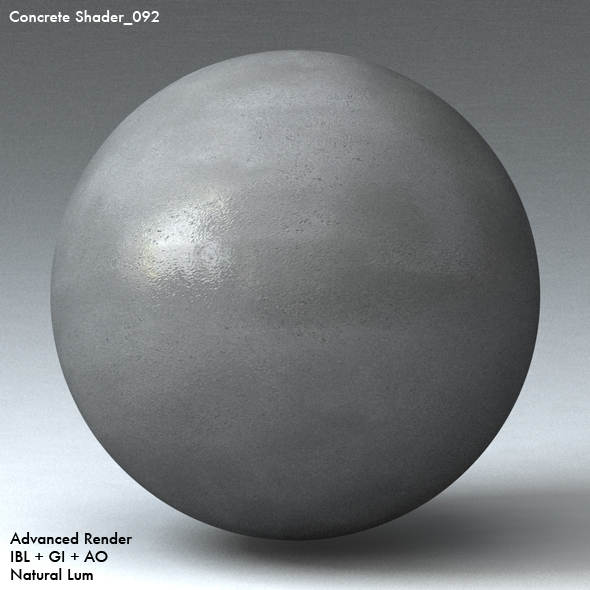 Concrete Shader_092 - 3DOcean Item for Sale