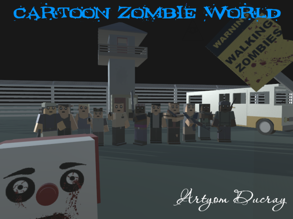 3DOcean Cartoon Zombie World 14909918