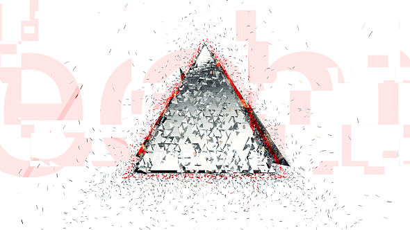 Transformed Glitch Logo 3