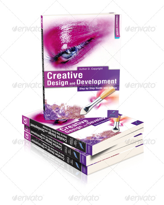 3d book cover template psd multi 3d book cover action