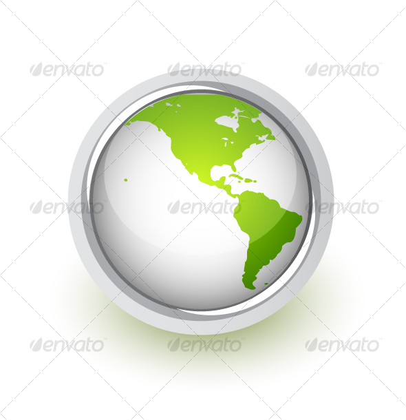 earth globe clip art. Vector Earth - GraphicRiver