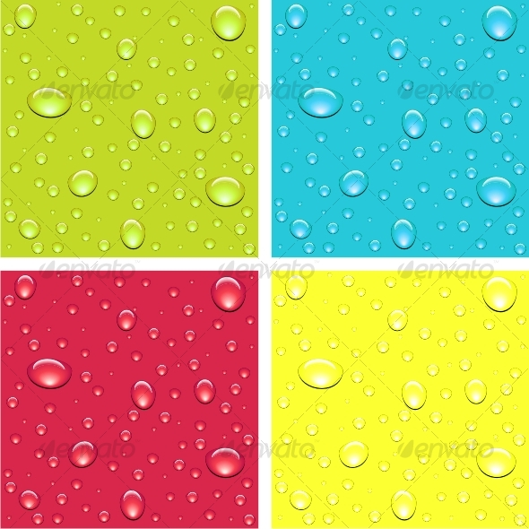 Drops of dew - Backgrounds Decorative