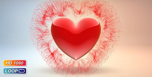 flowing valentine s hearts by kurbatov