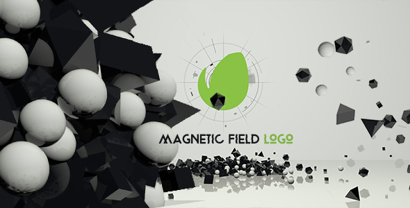 VideoHive Magnetic Field Logo 14914386