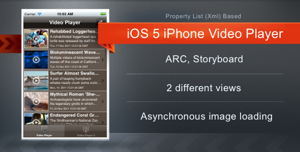 CodeCanyon iOS 5 Video Player 1492207