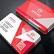 Classic Corporate Business Card Template 8