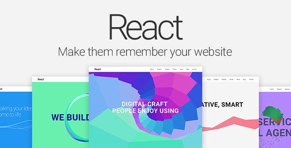 React — Material Design Multipurpose Template