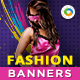 HTML5 Fashion Banners - GWD - 7 Sizes