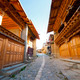 Wooden houses in Zhongdian (Shangrila), China  - PhotoDune Item for Sale