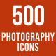 500 Photography Icons Bundle