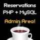 Reservations Script PHP + MySQL + Flash with Admin - ActiveDen Item for Sale