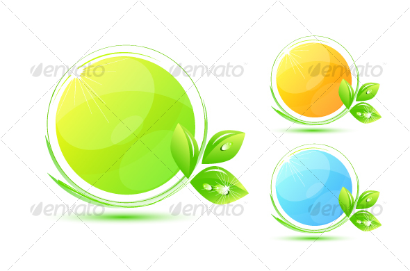 GraphicRiver Environmental symbols 58925