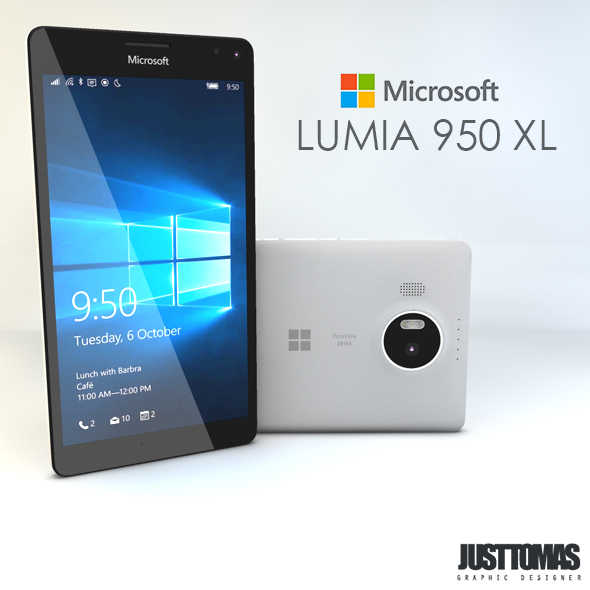Microsoft Lumia 950 XL - 3DOcean Item for Sale