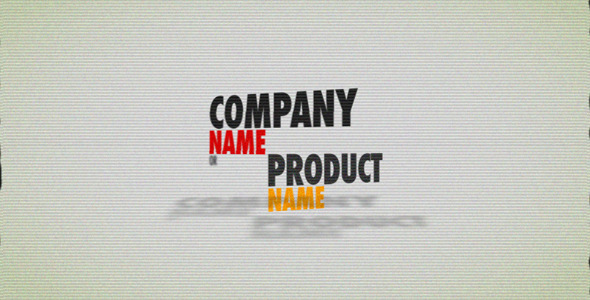 After Effects Project - VideoHive Company Product Showcase 1493401
