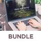 Work Desks - Realistic Mock Up - Bundle