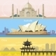 Australian, China and India