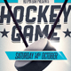 Hockey Game Flyer Template 2