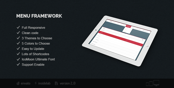 Download Menu Framework