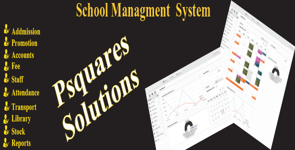 Psquares school management system