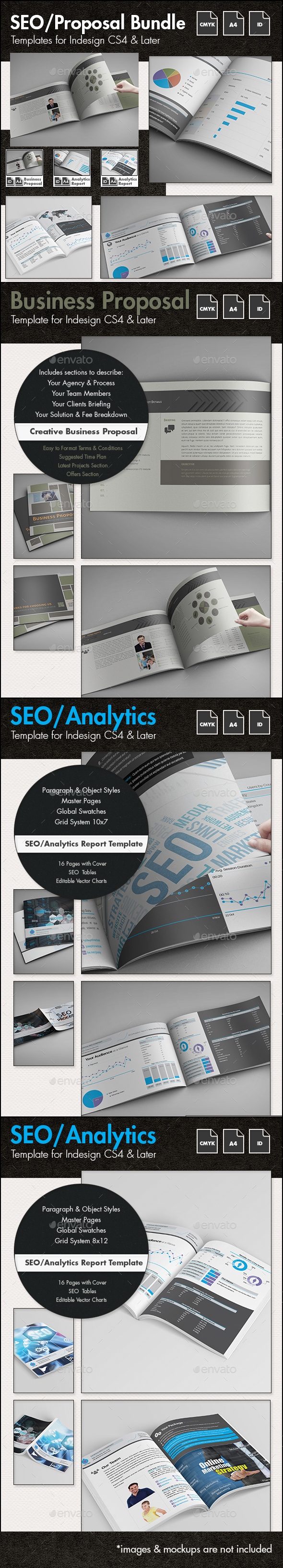 Seo Report Graphics, Designs & Templates from GraphicRiver