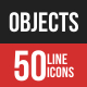 Objects Filled Line Icons