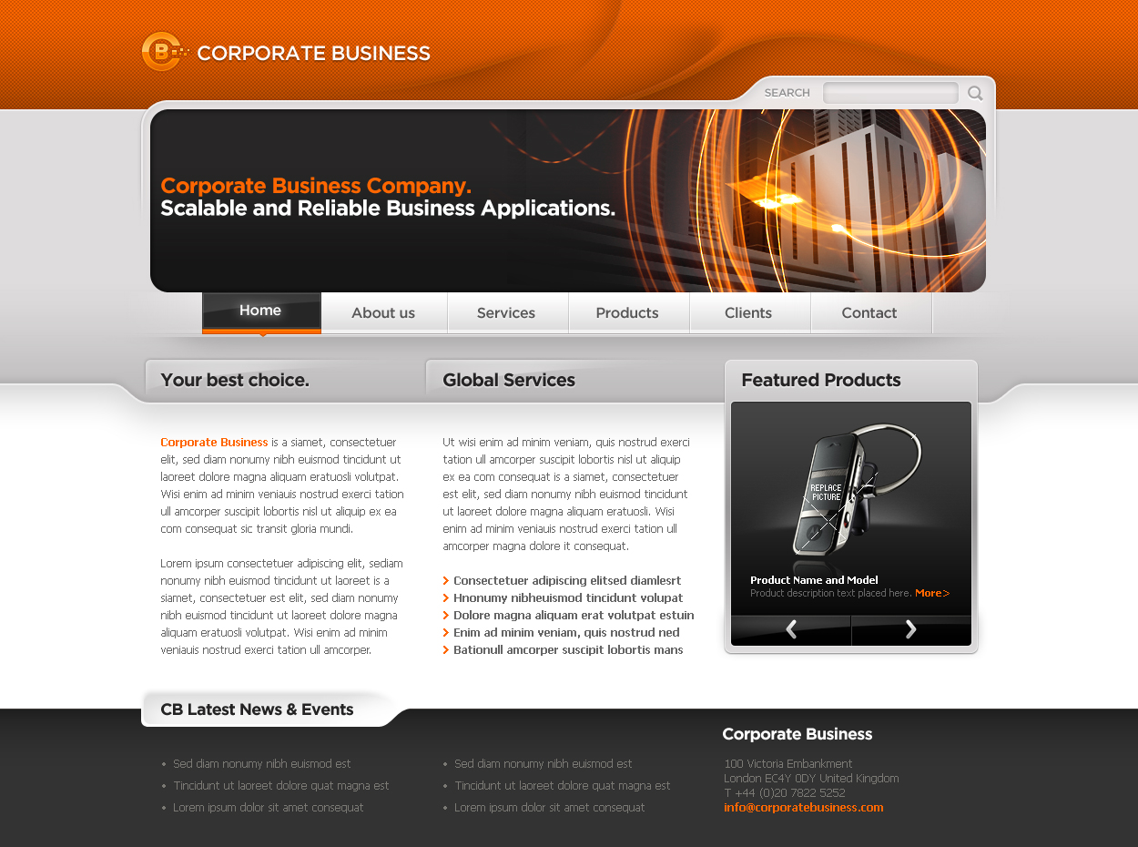 Business Template #06