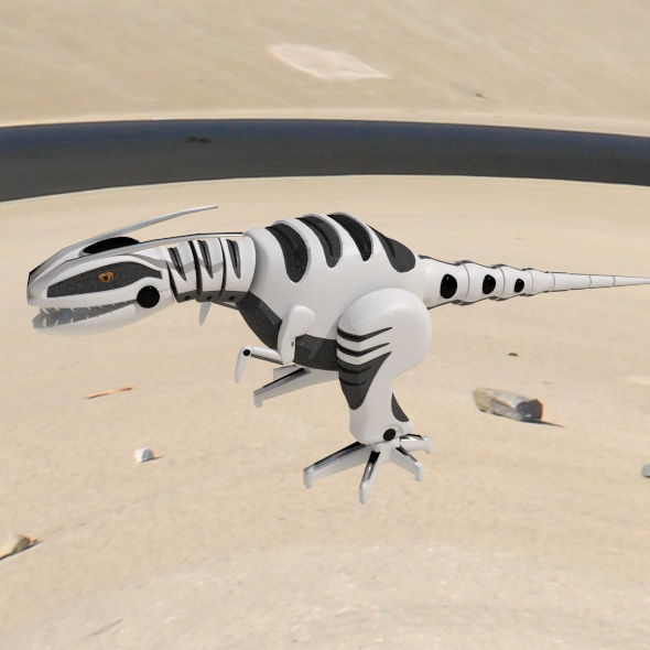 dinosaur robot - 3DOcean Item for Sale