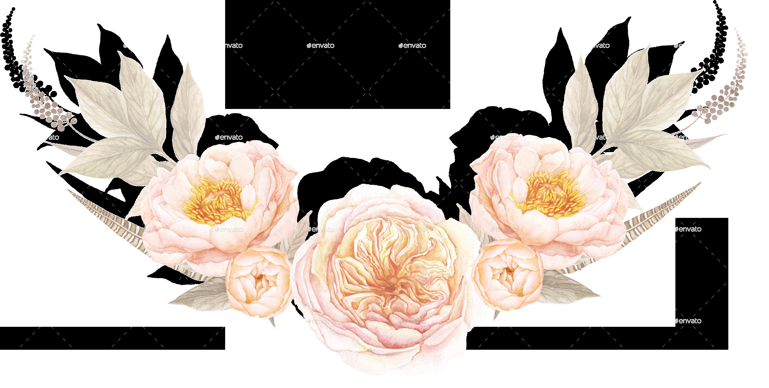 6 Vintage Floral Bouquets By Larabriffa Graphicriver
