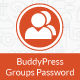 Buddypress Groups Password