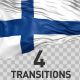 Finland Flag Transitions