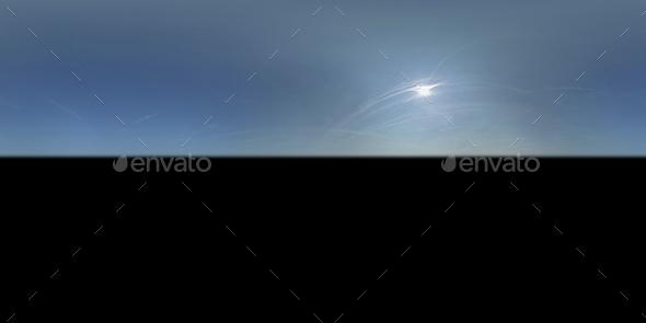 Clear Blue Sunny Sky Texture 003 - 3DOcean Item for Sale