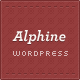 Alphine - Wordpress Portfolio and Blog Theme - ThemeForest Item for Sale
