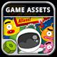 Zap Aliens - Game Assets