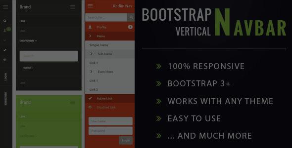 Auto Inherit Bootstrap Theme Vertical Sidebar