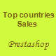 Your top countries sales Prestashop Module