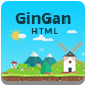 GinGan - Bootstrap Landing Page Template