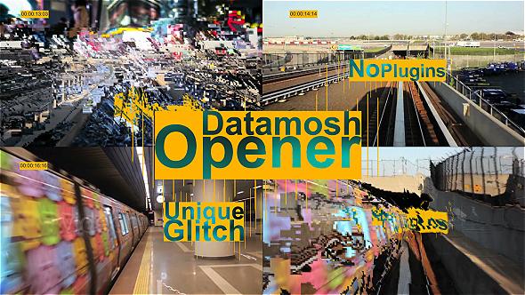 Datamosh Opener (Special Events)