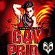 Gay Prade Party Flyer